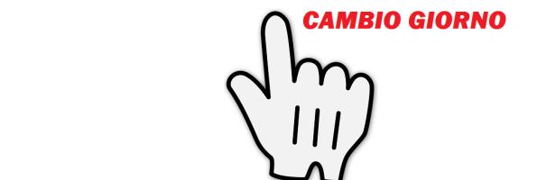 CAMBIO GIORNO – 2019-