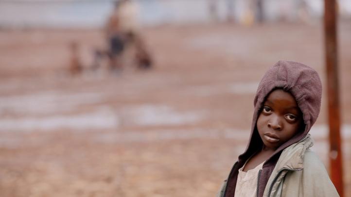 A child in Kanyarucina Displacement Camp.